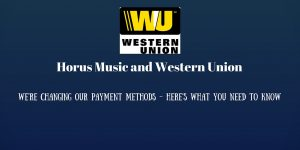 horus music and western union