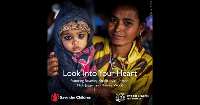 mick jagger save the children for nepal