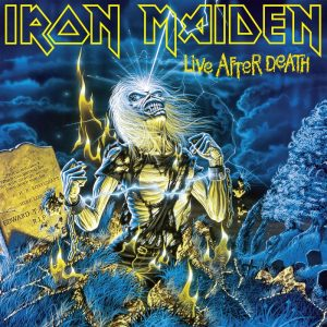 Iron Maiden - Life After Death album artwork