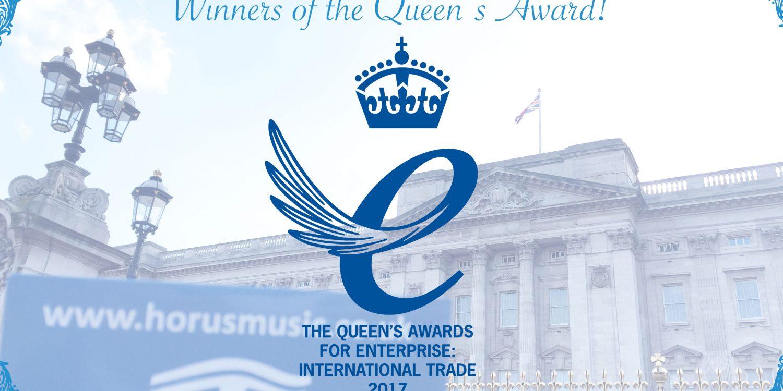 Horus Music Wins Queen's Award for Enterprise