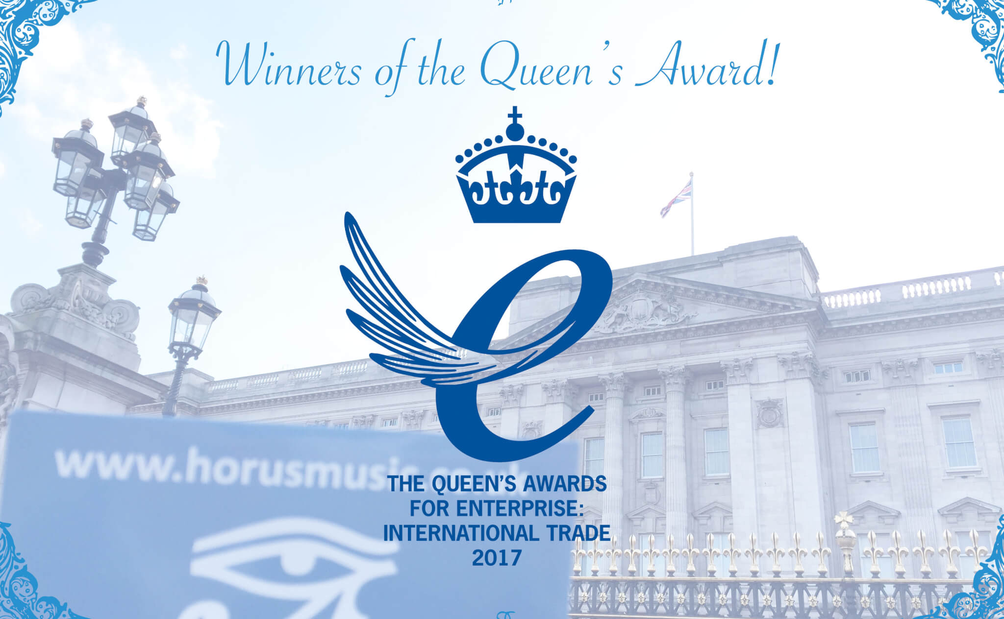 Horus Music wins Queen's Award for Enterprise
