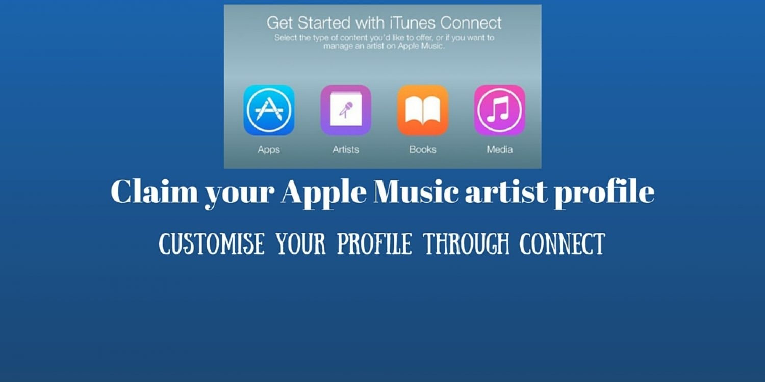 Claim your Apple Music artist profile