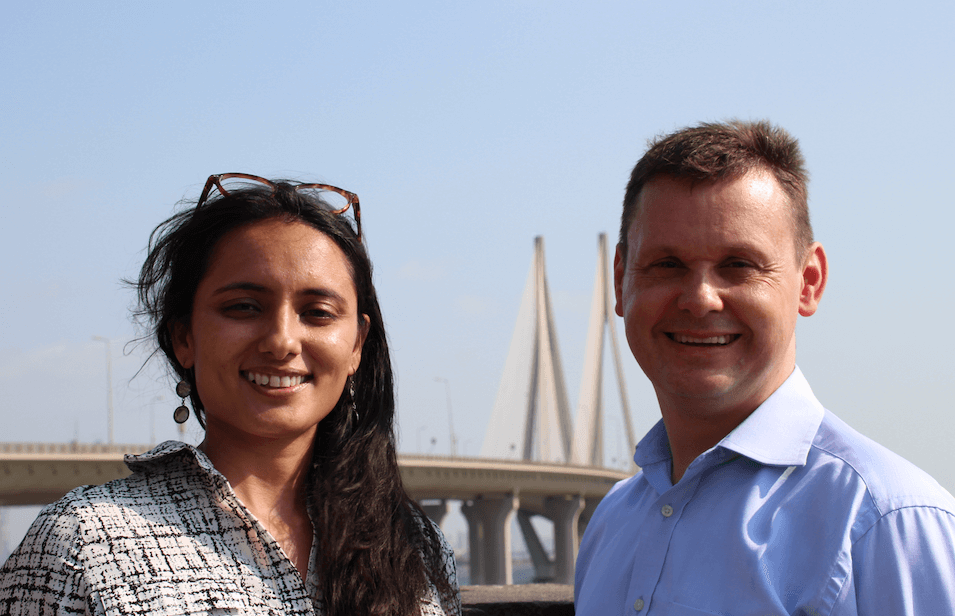 Horus Music India Malini Hariharan and Nick Dunn
