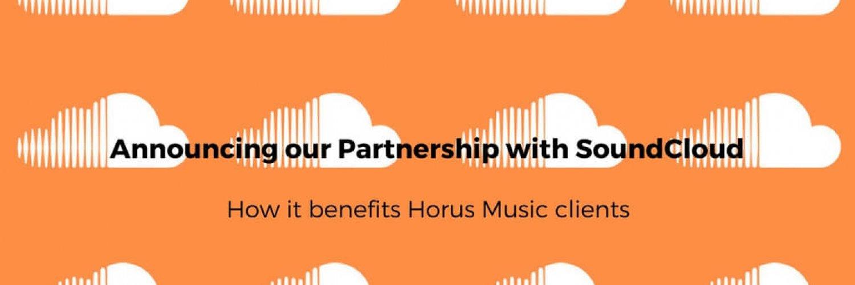 Horus Music announces its Partnership with SoundCloud