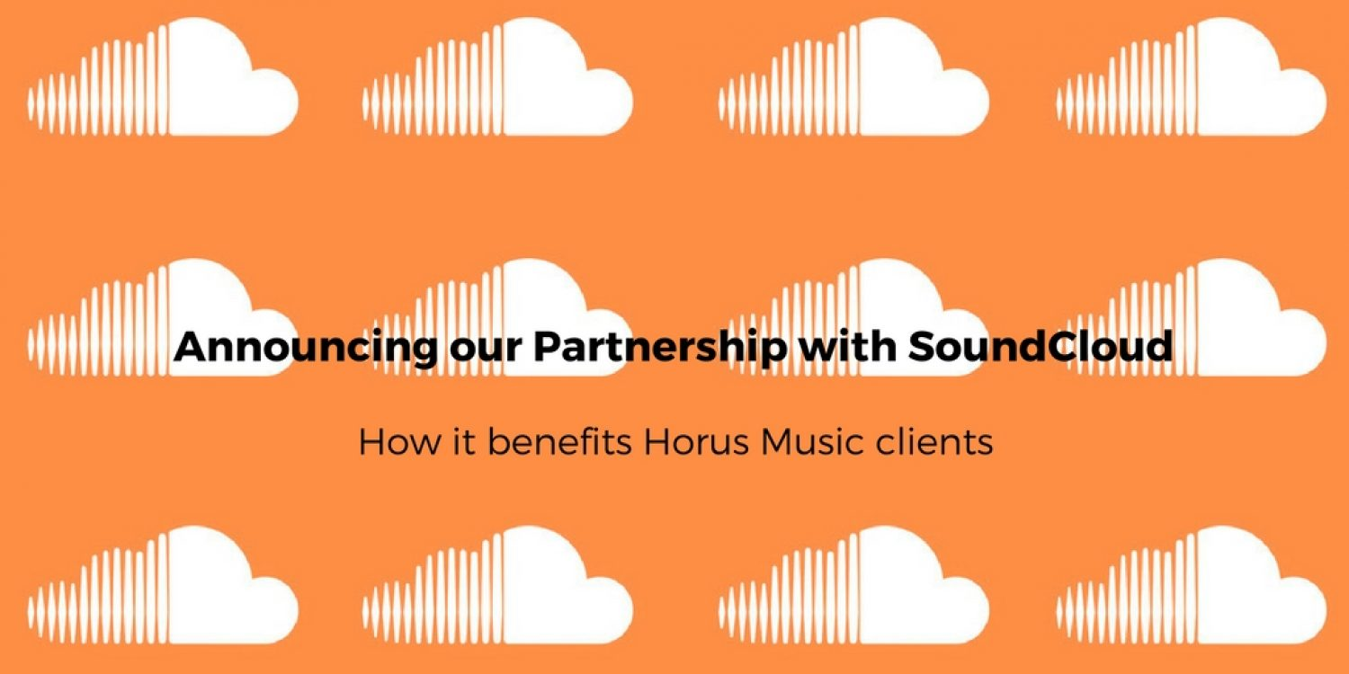 Horus Music announces its Partnership with SoundCloud