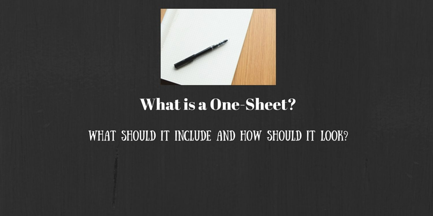 What is a One-Sheet?