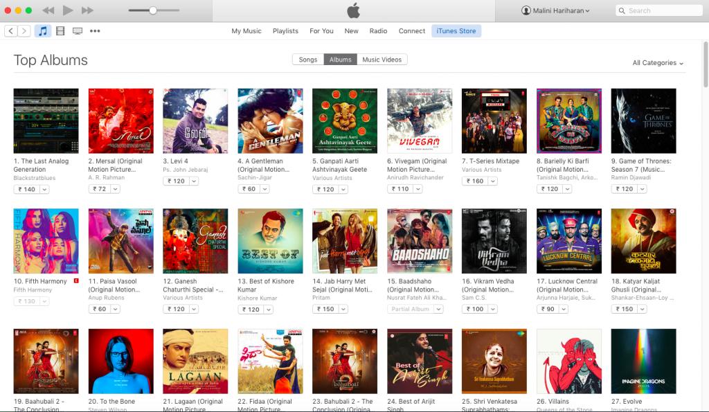 BlackStratBlues #1 iTunes Chart